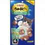 CIAO 流心粒粒雞肉&燒鰹魚貓小食(4小袋)