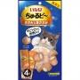 CIAO 流心粒粒雞肉&燒雞肉貓小食(4小袋)