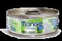 MONGE 天然貓罐頭 - 黃鰭吞拿魚配鮮雞肉 80g