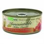 Naturcate 吞拿魚+雞肉+海蝦天然貓罐頭 155g