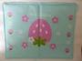 Petstyle 草莓花涼墊2L (65cm x 50cm)(粉藍/粉紅)
