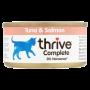 Thrive 天然貓主食罐頭 75g -吞拿魚+三文魚