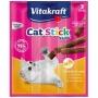 德國VitaKraft貓小食 - 火雞+羊肉條 (3支裝) 18g