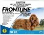 (會員優惠)購物滿$300 $225換購Frontline Plus 犬用殺蝨滴 (10-20公斤犬用) 3支裝