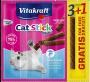 (會員優惠)購物滿$300 $13換購VitaKraft 貓用三文魚肉條(3+1條)