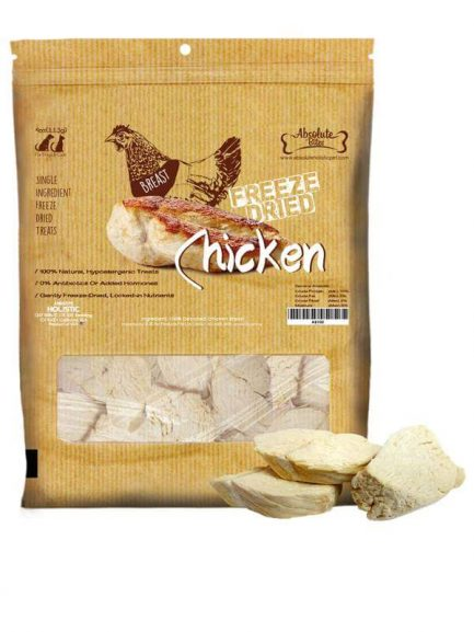 Absolute Bites Freeze Dried 天然原塊凍乾 - 上等雞胸 50g