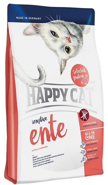 Happy Cat - Ente 成貓鴨肉無麩質配方(有穀物)