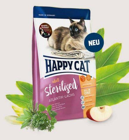 Happy Cat - Adult Sterilised 成貓絕育及減肥配方