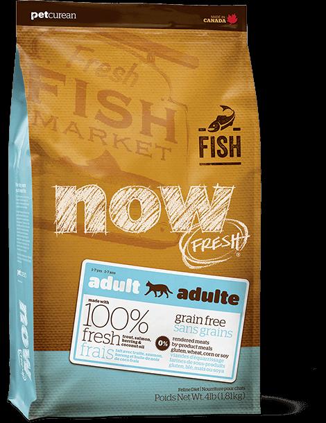 NOW! 成貓魚肉配方貓糧 Cat Adult Fish