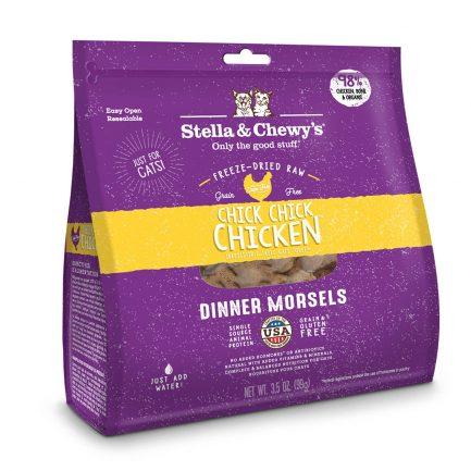 (會員優惠 買3包9折!)Stella & Chewy's 凍乾生肉貓糧 - 雞肉