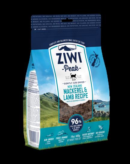 (會員優惠 買3包9折!)ZIWIpeak巔峰 鯖魚及羊肉配方風乾貓糧