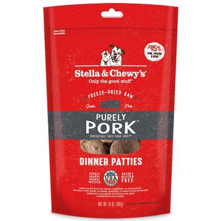 Stella & Chewy's Pork (豬肉配方)凍乾生肉餅
