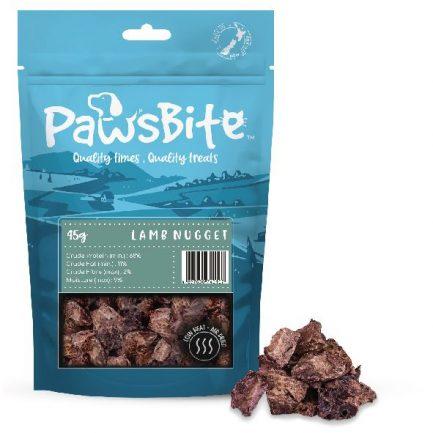 PawsBite 新西蘭風乾脫水貓狗小食 45g (羊肺粒)