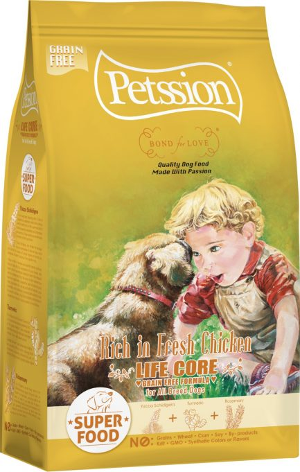 Petssion比心 Life Core for Dog Rich in Fresh Chicken 無穀物雞肉鴨肉狗糧