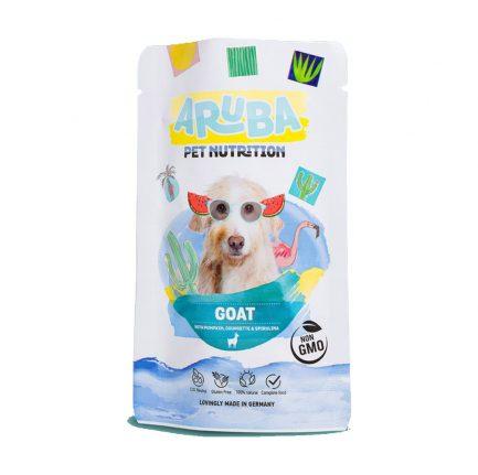 Aruba山羊配南瓜、青瓜和螺旋藻狗鮮食包