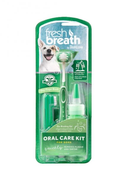 TropiClean oral gel kit (Mto L size) for dog photo